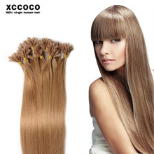 Wholesale Factory Price Fashionable Pre-bonded U Tip Hair, Remy U Tip Keratin Human Hair Extension