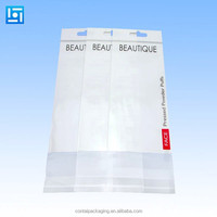 Transparent Opp Bopp Header Plastic Packing Bags/Opp Packaging Polybag/Opp Plastic Bag Definition