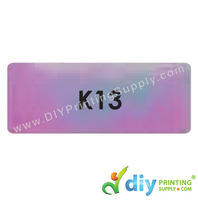 Name Sticker (Rainbow) (46mm X 18mm) (2,100pcs)