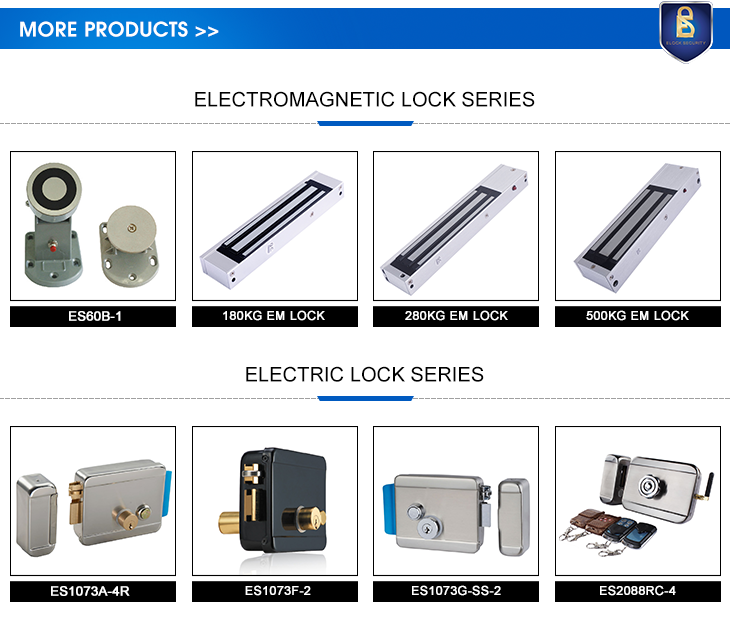 Anti-residual magnetism 600LBS/280KG Electriomagnetic lock for Metal/ wooden doors with Timer