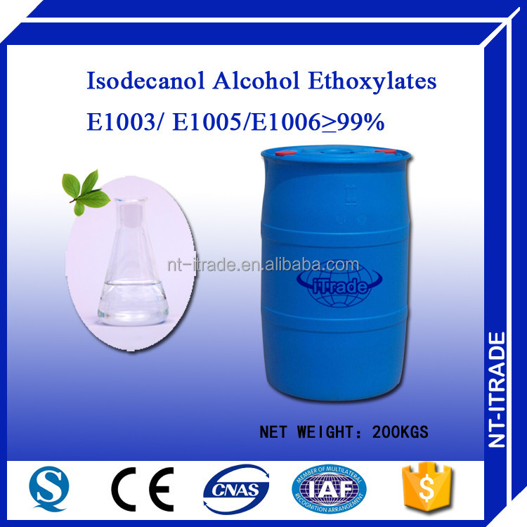 Chinese Supplier Ethoxylated isodecyl alcohol surfactant <strong>chemical</strong> 61827-42-7
