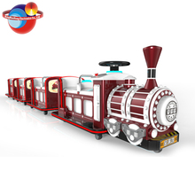 Real Trackless Train For Sale,Train Battery Operated In Mall/Trackless Train