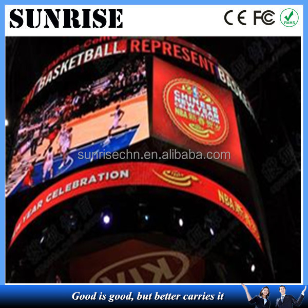 newest and hottest score board stadium led screen p10 p16 sport led display Electronic advertising perimeter led display