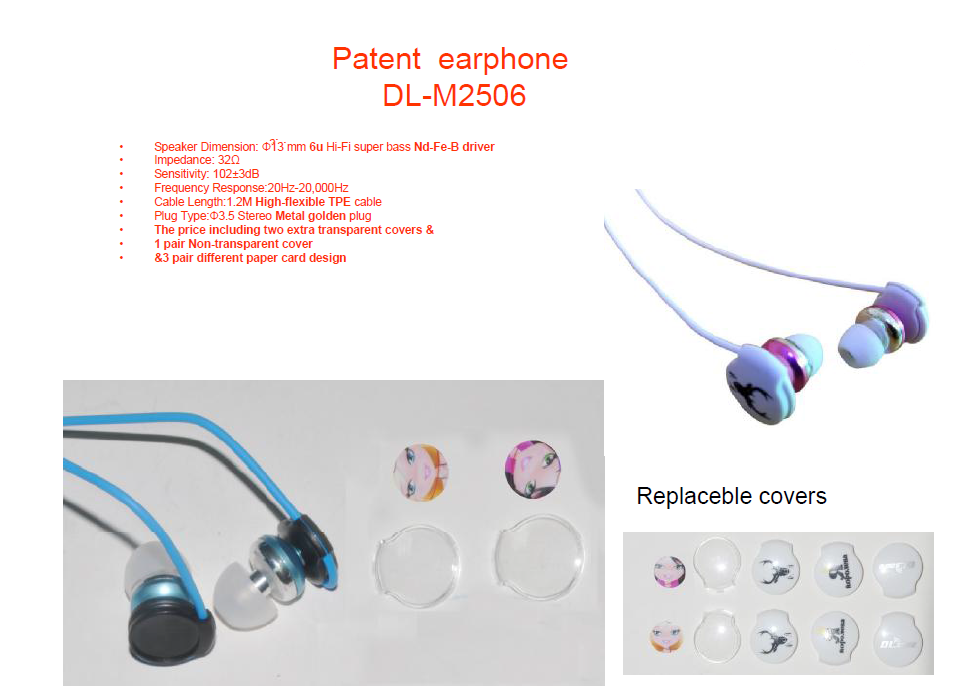 WALLYTECH Latest Metal PATENTED Earphones with Microphone & on/off Remote for Android and for iPhone