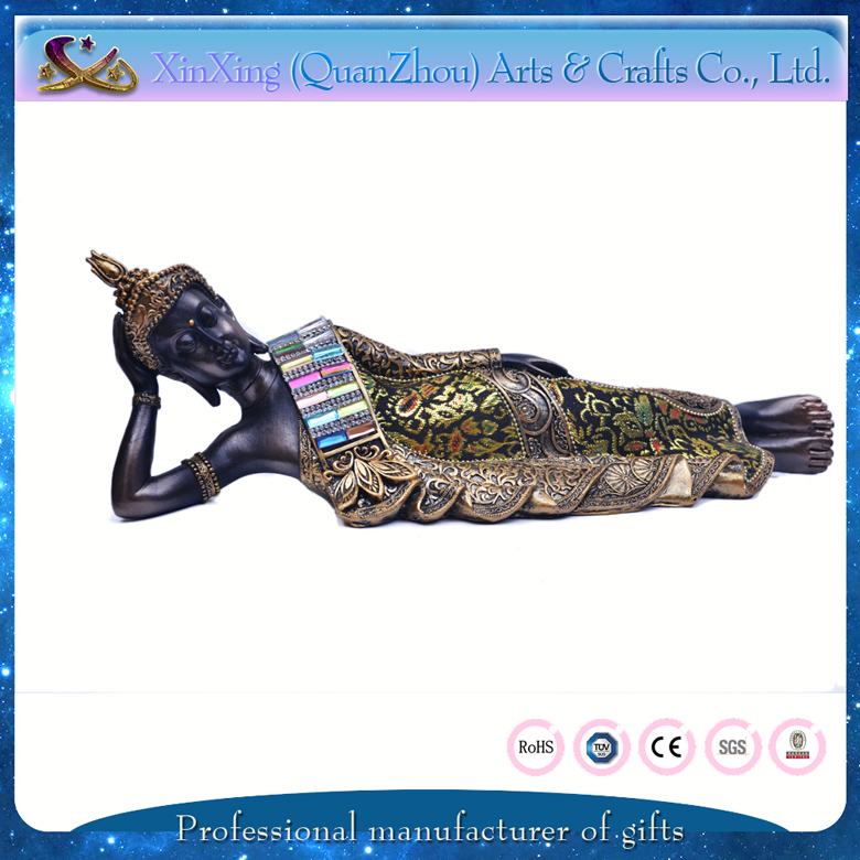 wholesale gift resin 3d sleeping buddha painting