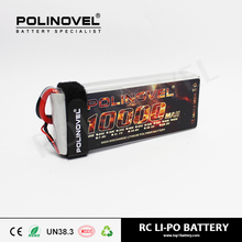 752540 RC lithium battery 14.8v 10000mah 25c lithium ion car battery