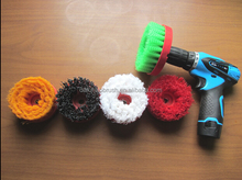 wholesale swivel brush/ electric drill carbon brush/ drill scrub brush