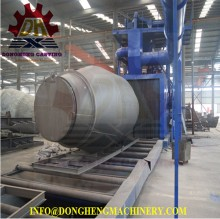 Roll texturing rubber belt conveyor shot Blasting Machine