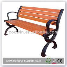 2012 hot sale patio outdoor wood bench