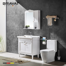 White bathroom furniture Wooden Bathroom Cabinet 1400mm width vanity wall hung bath furniture