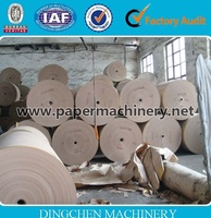 1880mm Model High Quality Toilet Core Tube Kraft Paper Making Machine With Low Price
