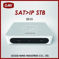 9510 MPEG-4/MPEG-2 SUPPORT WIFI DONGLE AND PVR SAT > IP SET TOP BOX
