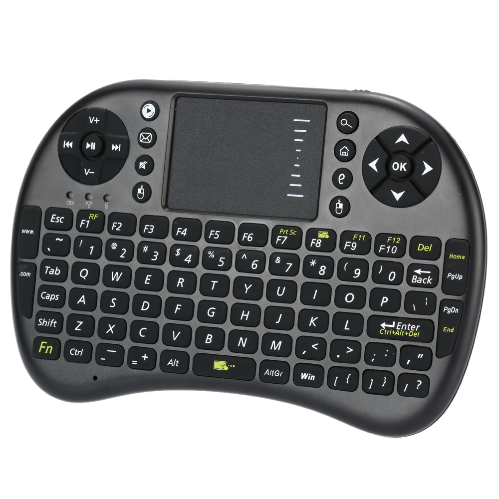 2.4G USB Wireless Mini Keyboard English Version Keyboard Touchpad & Air Mouse 800mAh Air mouse Keyboard for Android Windows TV