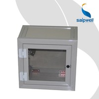 SAIP/SAIPWELL CE Certificated 450*450*250 Distribution Box PVC Waterproof Outdoor Project Enclosures for Electronics
