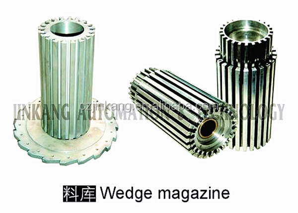 Wedge magazine for automatic electric motor stator coil winding machine/OEM China supplier