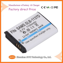 Battery Pack for Samsung camcorder Camera SLB-1137D 3.7V 1100mAH Li-ion Battery pack