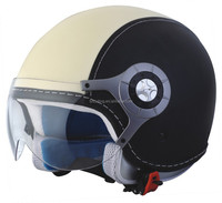 Double visor Open face helmet with free shipping