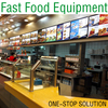 Hot Sale Burger Restaurant Fast Food Equipment(One-stop Solution)