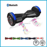 Self Balancing Scooter With Bluetooth Speaker And Front LED Lights