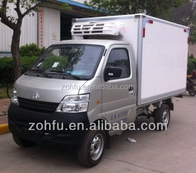 refrigerated cargo van/transportation cooling car/delivery vans for sale