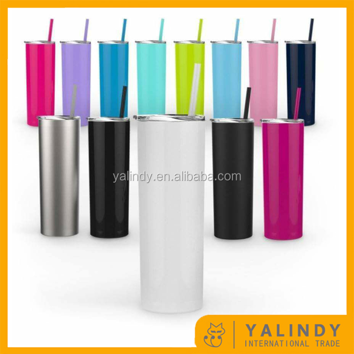 New Arrivial Monogram Insulated Skinny Stainless Tumbler