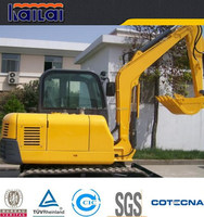 XCMG hot sale 4 ton cheap mini hydraulic excavator in dubai