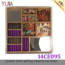 Mirrored Pill Large Wooden Jewelry Boxes
