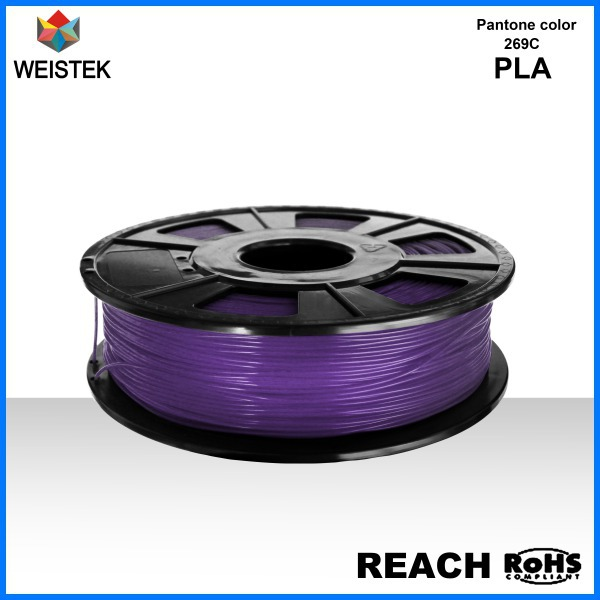Weistek Environment Friendly Multiple Color PLA 3D Printer Filaments Accuracy 0.5mm No Odor