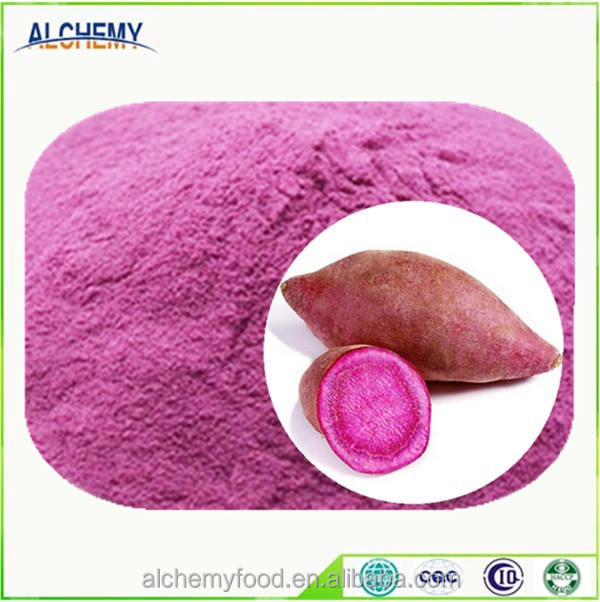 Instant purple sweet potato powder