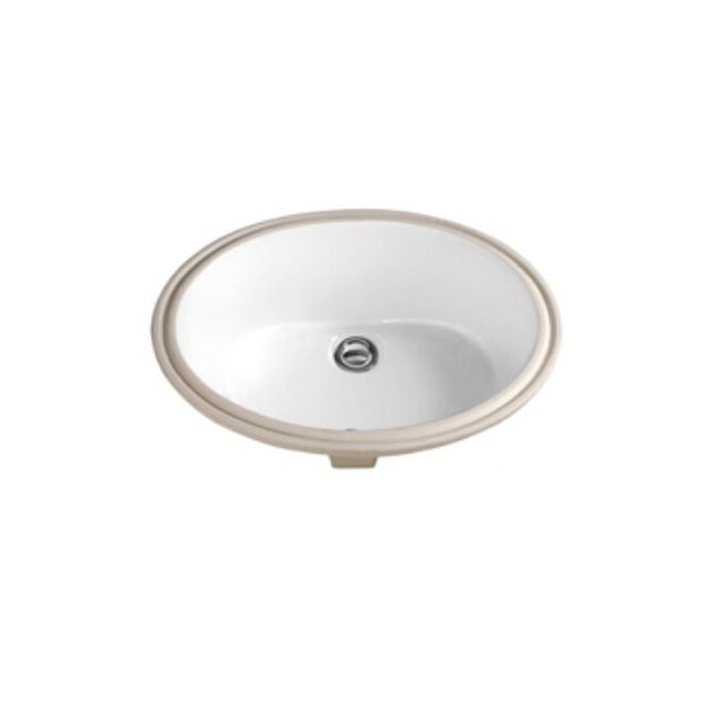 Oval Round Under Counter Mounted Ceramic Basin /bathroom Vanity Undermount Sinks