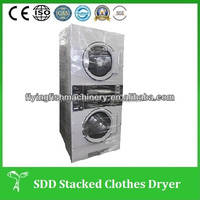 Industrial double stack washer and dryer machine prices