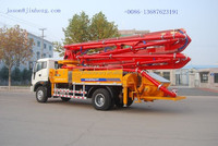 JH5021 equipment for tunnel construction concrete pump truck