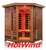 Luxury Far infrared cedar corner sauna room