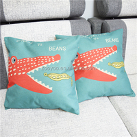 ZOOYOO bloster with pattern crocodile pattern bloster pillow without interior wonderful design bloster (ETH0127)