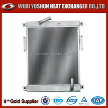 Hot selling OEM custom made aluminum plate fin auto radiator