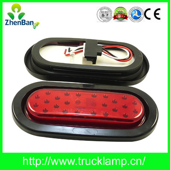 Hot Selling Oval LED Stop Turn Tail With DOT SAE Certificated