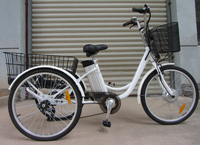 best seller three wheels electric bike with EN15194 / 24' electric tricycle / cargo tricycle