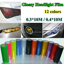 Popular Styling Colorful lamp Vinyl Car Motor Tail Headlight Car tint Film
