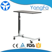 YFT-003 Cheap price adjustable hospital patient dining table