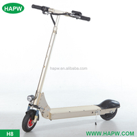 America and Europe love electric folding scooter from China manufacturer HAPW