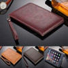 Luxury Business Flip Wallet Card Stand Case Leather Smart Cover For iPad MINI4 7.9""