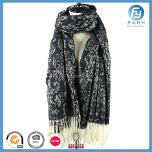 Wholesale OEM ODM Woman Jacquard Woven Scarf