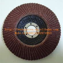 China Manufacturers Paint Removal Abrasive Flap Disc