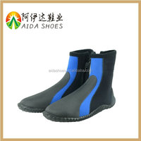 waterproof 4mm neoprene diving socks neoprene rubber surfing shoes diving boots