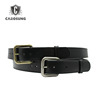 Black Genuine Leather Belt Men Travel
