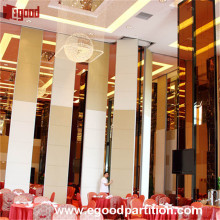 costs of operable partition wall folding wall door for hotel prices
