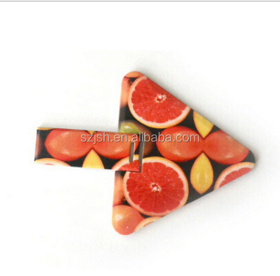 1Dollar Triangle Card Shape 2.0 USB Thumb Drive For Promotion Gift