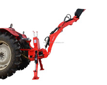 3 point hitch cheap towable mini tractor backhoe for sale