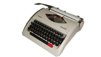 "2012 new modle 9.5"" english manual Typewriter"