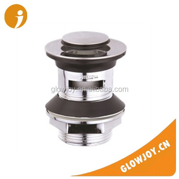 made in china sink drain overflow for bathroom chromed bounce basin waste
